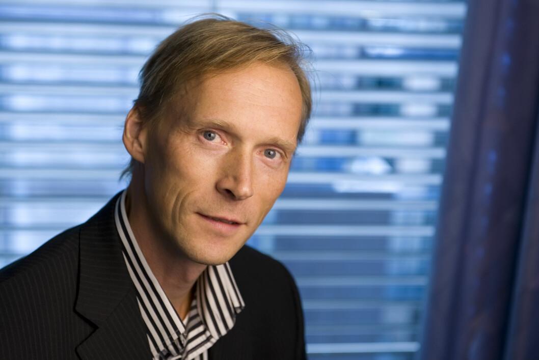 <strong>INGEN RASK RENTEOPPGANG:</strong> Det er ikke sannsynlig med en rask renteøkning, sier seniorøkonom Kyrre Aamdal i DnB NOR Markets. Foto: DNB