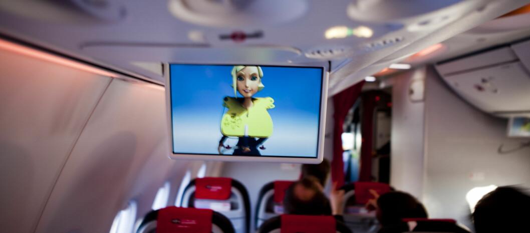 Nå blir de tristeste filmene til Virgin Atlantic tåremerket, slik at følsomme passasjerer kan selv vurdere om de vil se filmen eller ikke.  Foto: Per Ervland