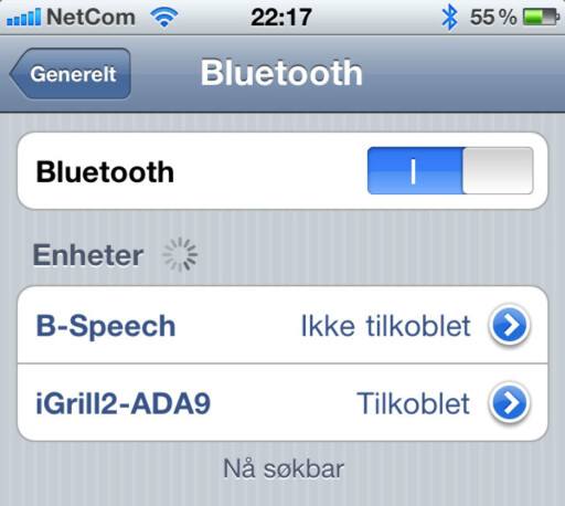 image: iGrill for iPhone og iPad