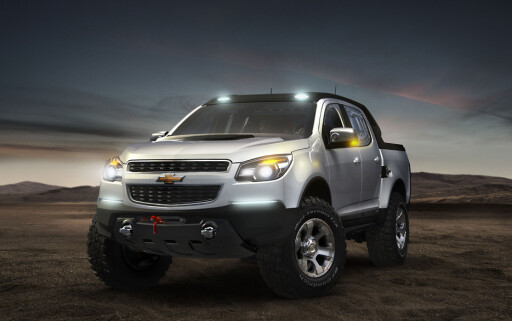 Chevrolet Colorado Rally Concept Foto: Wieck