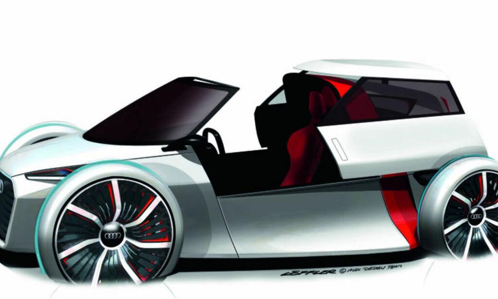 image: Audi 1+1 Urban Concept