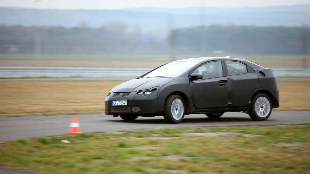 Hovedfokuset til Honda under utviklingen av nye Civic virker å ha ligget på kjøreegenskaper og komfort