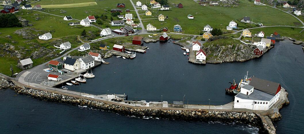 Utsira kommune er den nest minste kommunen i Norge. Foto: Utsira kommune