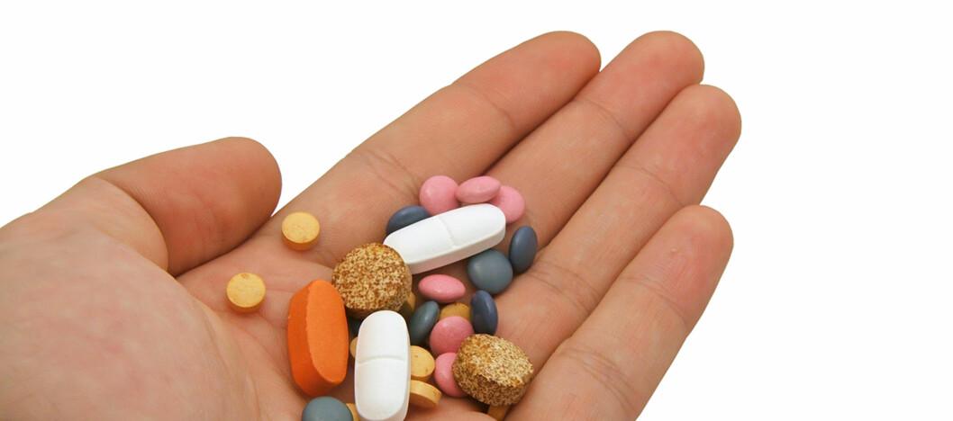 Helsekostprodukter er populære. Samlet omsettes det helsekost for mer enn 2,4 milliarder kroner i året. Foto: Colourbox