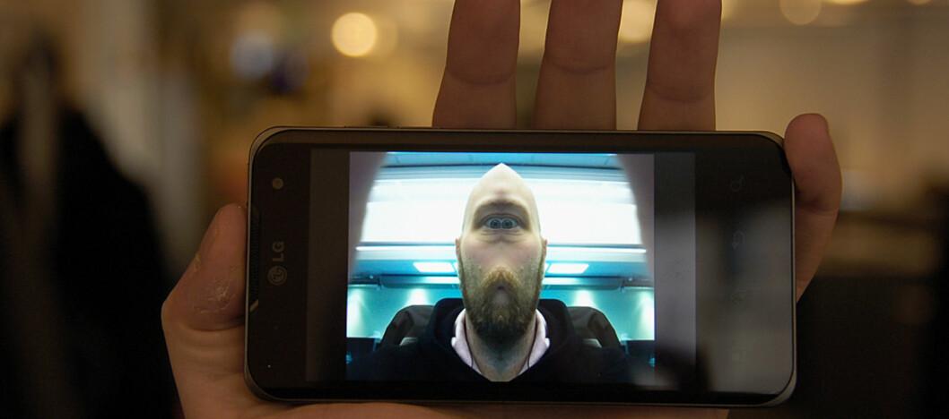 Det finnes mange fotoapplikasjoner som kan gjøre mer enn det innebygde kameraet. Dette bildet er tatt med Camera360 Ultimate for Android. Foto: Pål Joakim Olsen