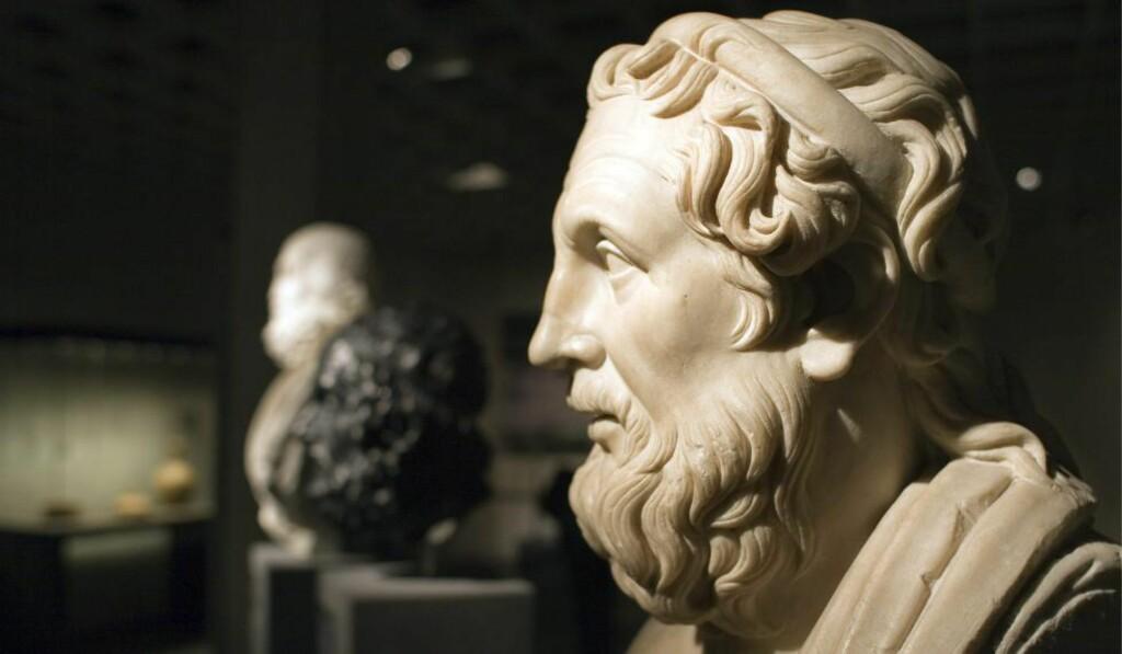 KLASSIKERSINKE: Norge ligger langt etter i oversettelser av klassisk litteratur. Når ble for eksempel Homers (bildet) «Odysseen» og «Iliaden» oversatt sist, spør artikkelforfatteren. Foto: Georgios Kefalas / AP / NTB Scanpix.