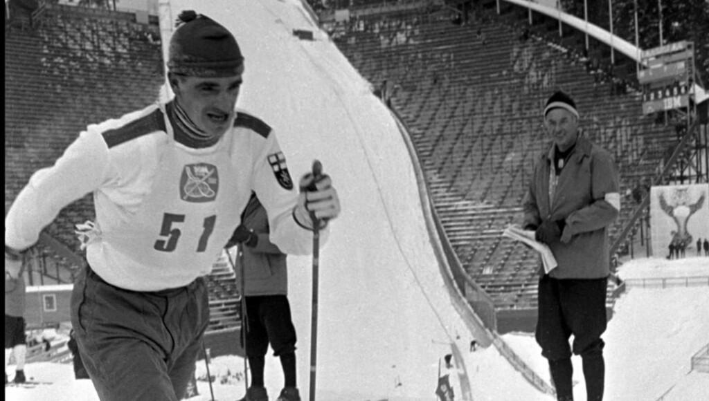 BEST IGJEN:  Eero Mäntyranta på vei mot seier på 3-mila i Holmenkollen under VM-1966. Med sitt overlegne oksygenoppptak var han lenge verdens beste skiløper. FOTO: NTB/Scanpix.