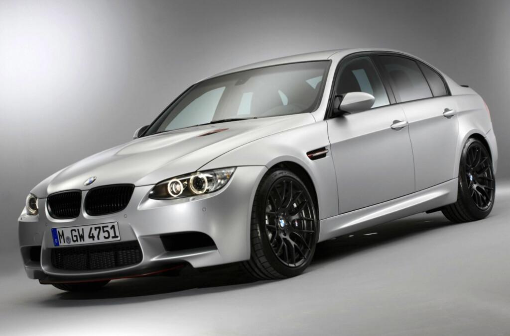 Med M3 CRT introduserer BMW en ny produksjonsteknikk for karbonfiber. Kun 67 eksemplarer skal produseres. Foto: BMW