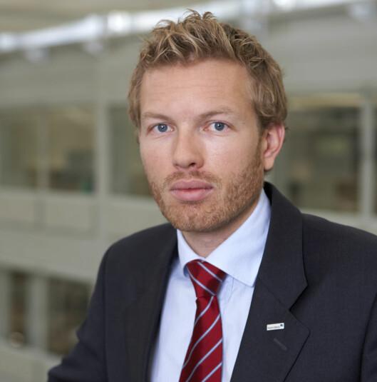Thomas Sevang, Nordea Foto: Nordea