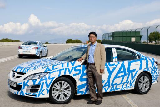 Mannen med løsningene: Utviklingsansvarlig Seita Kanai. Foto: Mazda