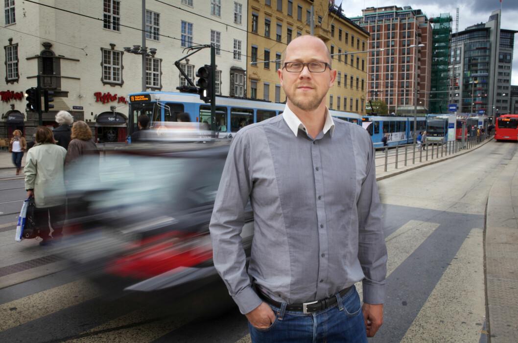 <strong>STÅ PÅ KRAVA:</strong> Martin Skaug Halsos understreker at en avtale er en avtale. Også om du har gjort den med en nettbutikk.  Foto: Kolonihaven/Forbrukerrådet