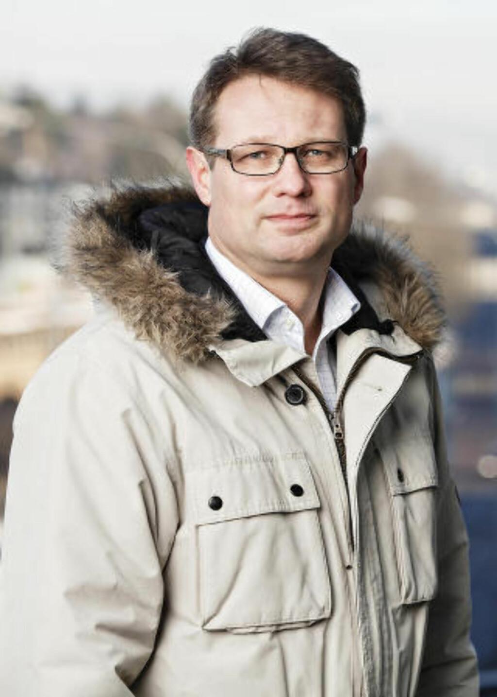 KLIMAENDRINGER: Kommunikasjonsrådgiver Sigmund Clementz i If Skadeforsikring sier de har merket seg klimaendringer i Norge. Foto: Pressefoto/If Skadeforsikring.