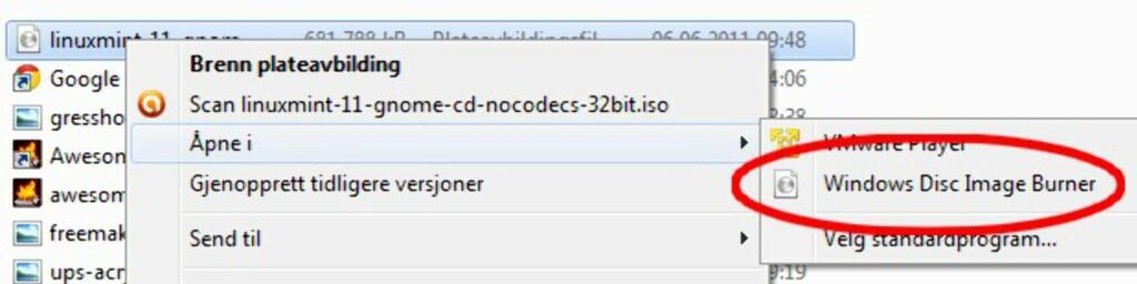 désinstallez Linux Mint et installez Windows 7