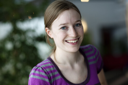 <strong>SKJERPER SEG:</strong> Når Miriam Karlsen i Forbrukerombudet kontakter dem, blir det ofte bedring.  Foto: Bjørn-Eivind Årtun/Forbrukerombudet