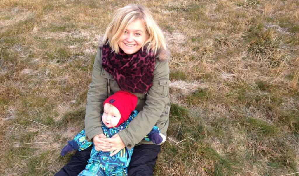 HAR PRØVD DET MESTE: Marita har forsøkt alt for å få sønnen til å sove. Foto: PRIVAT