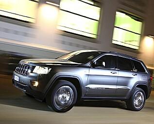 Jeep på plass igjen