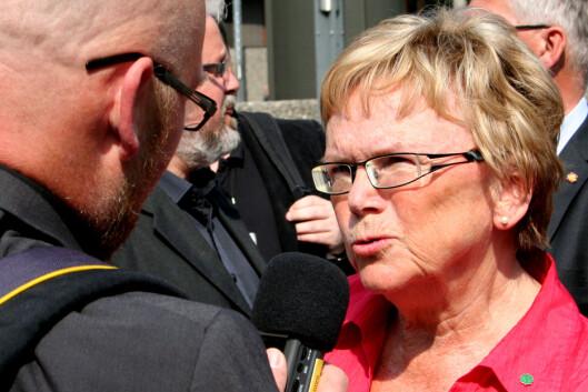 Samferdselsminister Magnhild Meltveit Kleppa. Foto: Ole Petter Baugerød Stokke