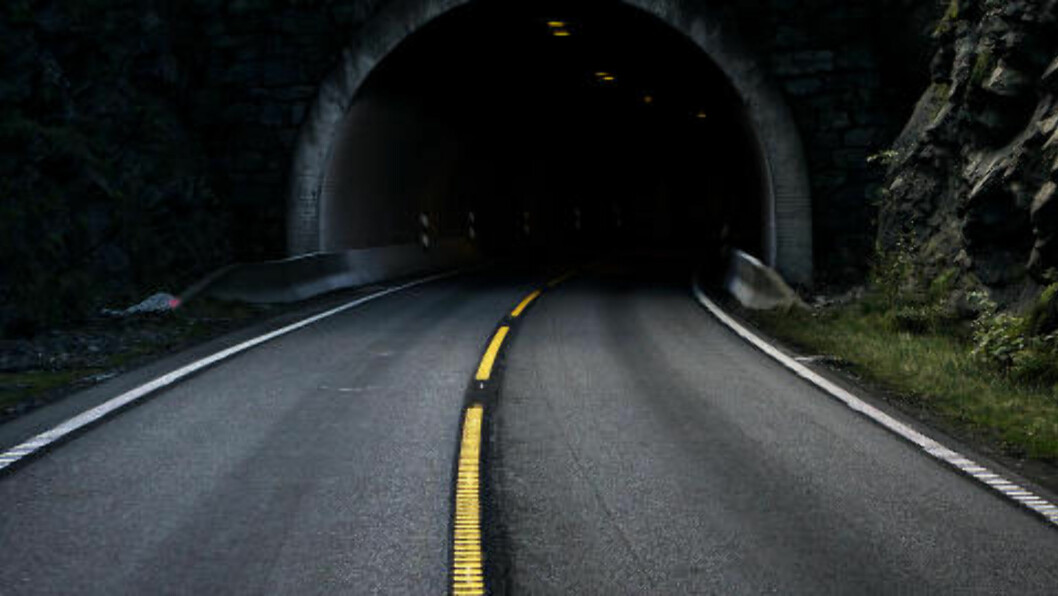 <strong>Gudvangatunnelen:</strong> I august i fjor begynte en lastebil å brenne i denne tunnelen. Menneskene som var fanget brukte over to timer på å kjempe seg ut av røyken. Foto. Jørn H.Moen / Dagbladet