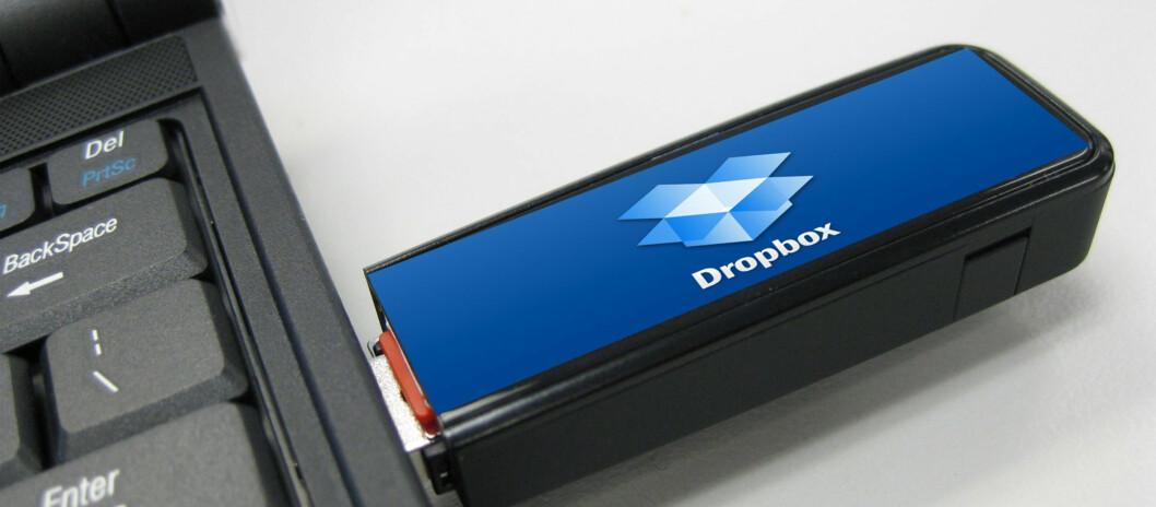 Nå kan du bruke Dropbox på minneplugg