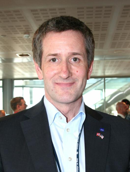 Kenneth Vikse er kommunikasjonssjef i SAS. Foto: Silje Ulveseth