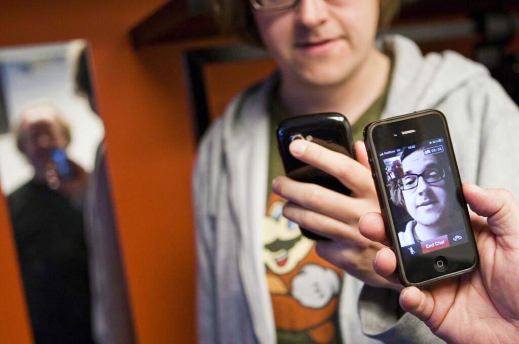 Videochat fra Android til iPhone - DinSide