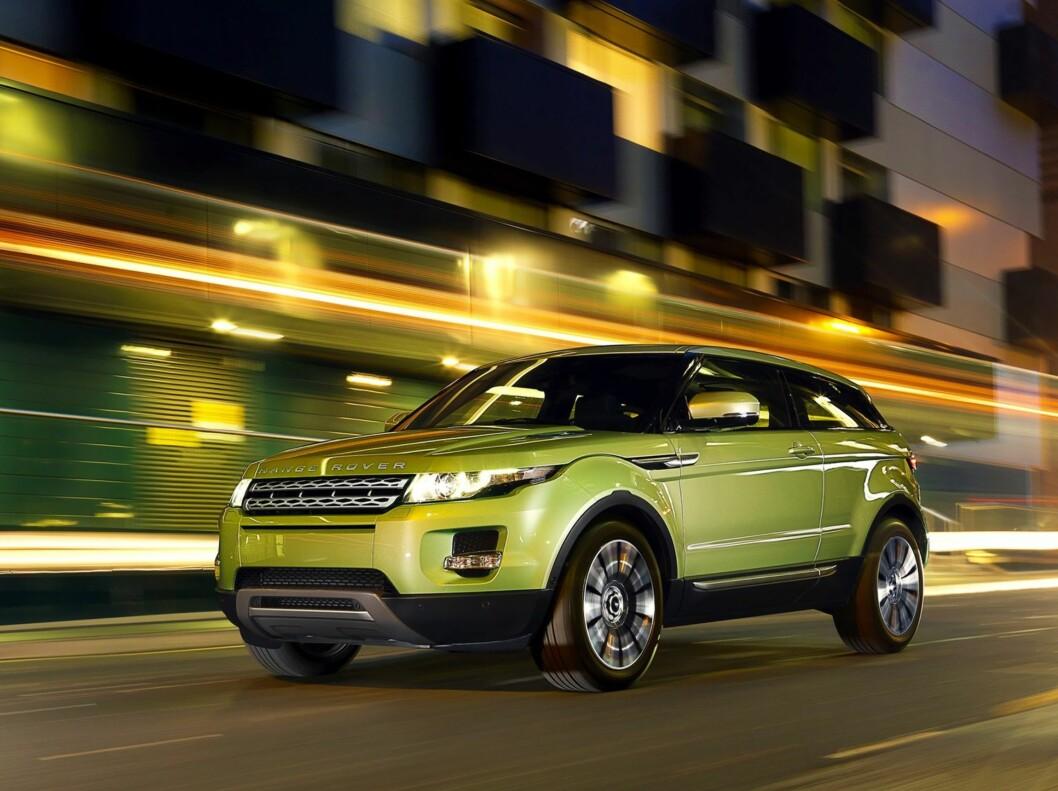 """""""Kupé""""- eller tredørsversjonen. Foto: Land Rover"""