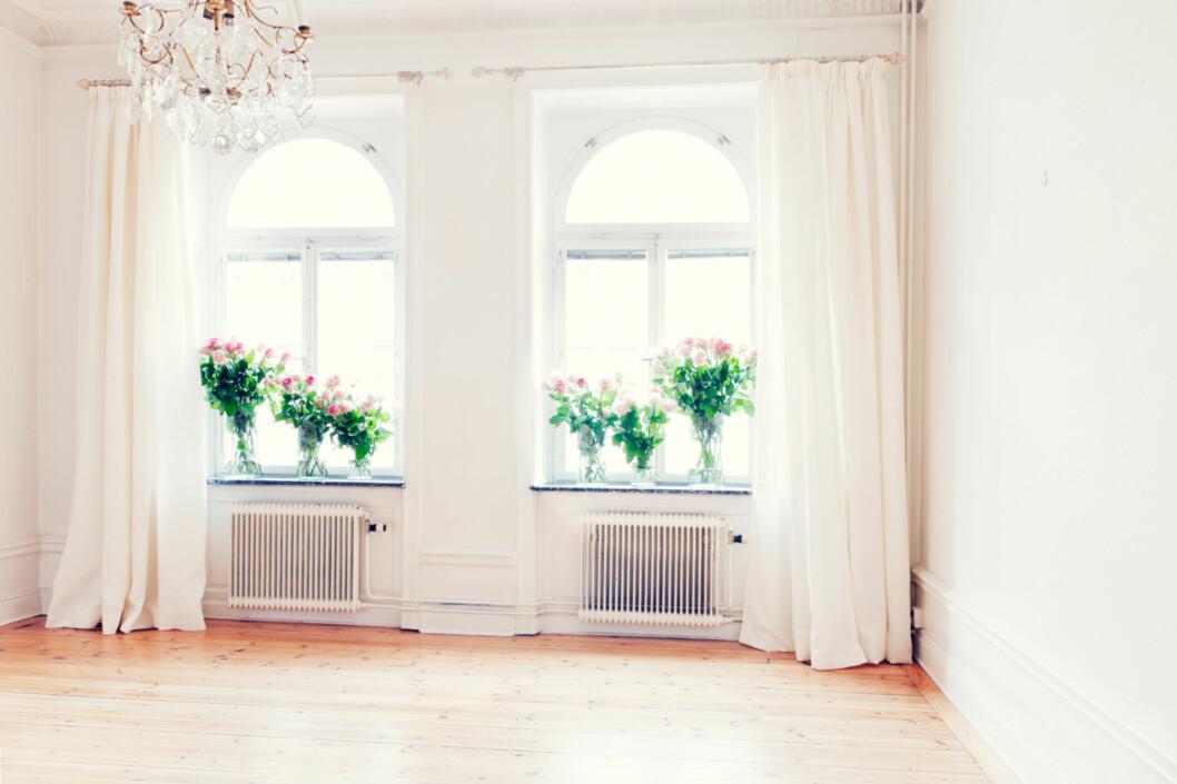 """Tio tusen? Ihvertfall mangfoldige titalls roser gikk med da denne leiligheten skulle foreviges.<a target=""""-blank"""" href=""""http://fantasticfrank.wordpress.com/2011/03/04/rosor-for-3-3-miljoner/"""">Fantastic Franks blogg</a> Foto: Anders Lindén"""