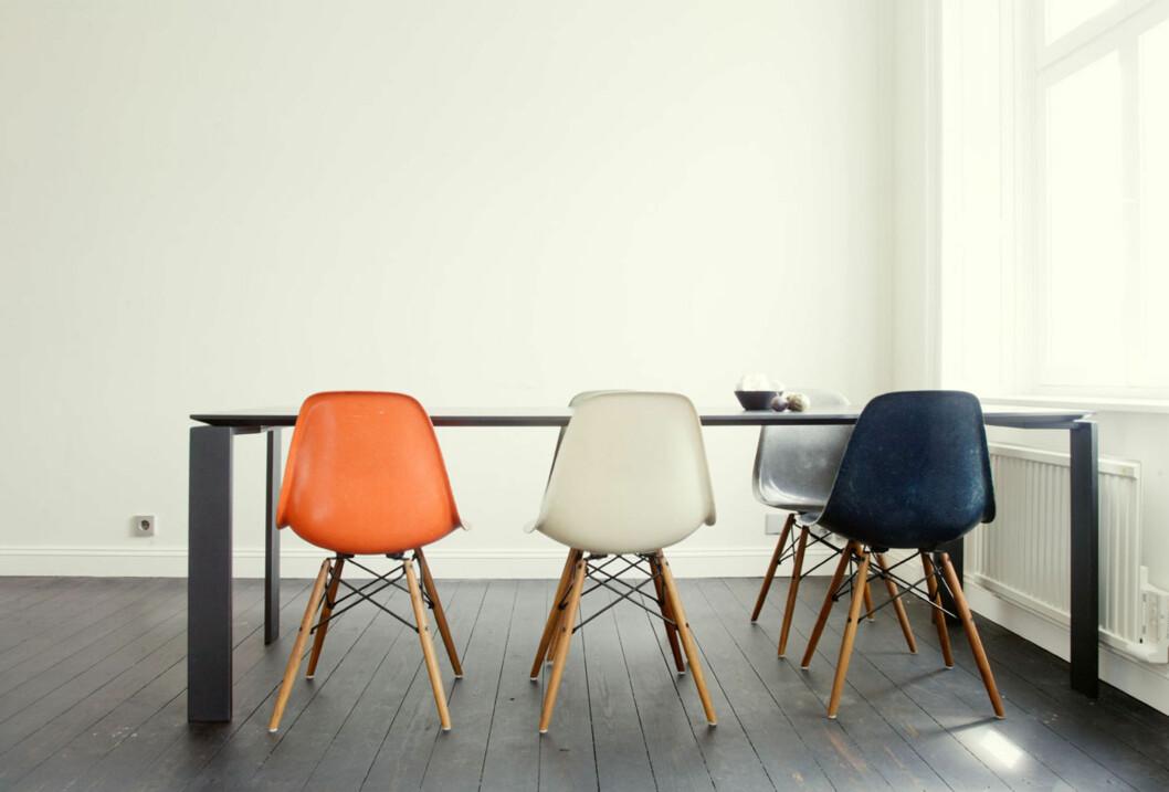 Ikke alle bildene er like rotete. Dette er for ekstrem-minimalisten: Det perfekte, minimalistiske lerretet. Foto: Anders Lindén
