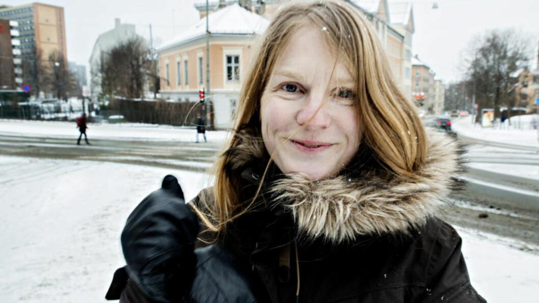 <strong>OM DE SVAKESTE:</strong> Ingvild Rishøis nye novellesamling handler om de som faller utenfor.  Foto: Nina Hansen / Dagbladet