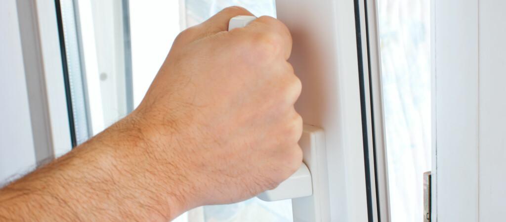 Lite lufting gir dårlig ventilasjon og potensielt fuktskader. Foto: COLOURBOX