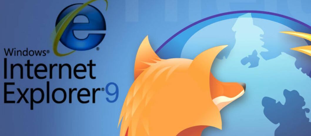 Firefox 4 knuser Explorer 9
