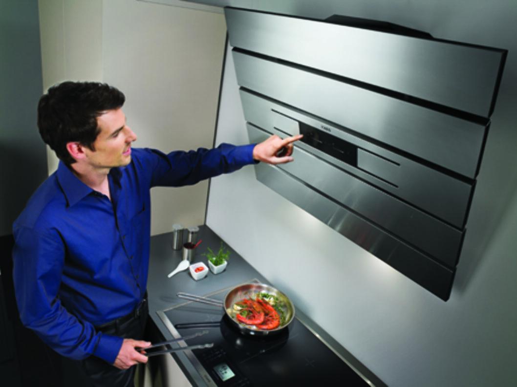 Kjøkkenviftene er ikke lenger hva de en gang var. Foto: Produktbilder AEG