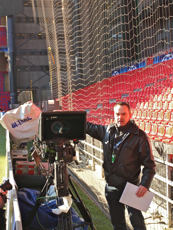 Teknisk sjef i Viasat, Johnny Glud Sørensen. Foto: Øivind Idsø