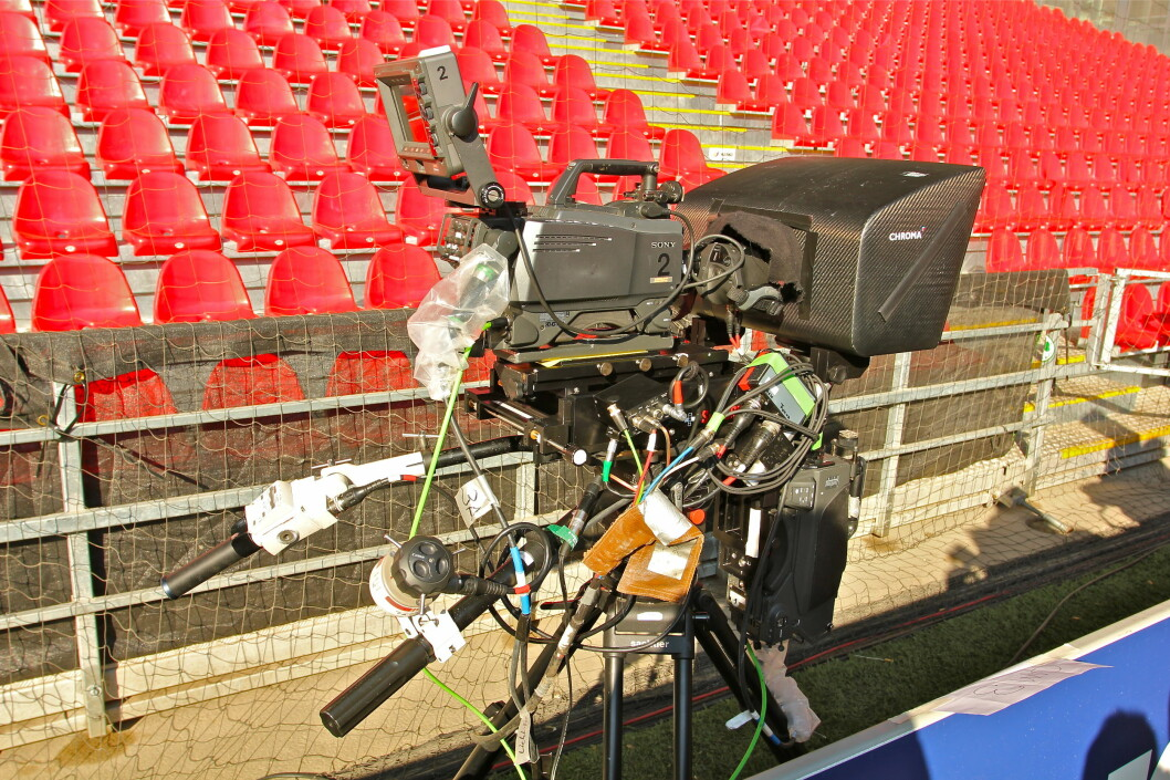 Ett av HD-kameraene som var i bruk i Parken. Foto: Øivind Idsø