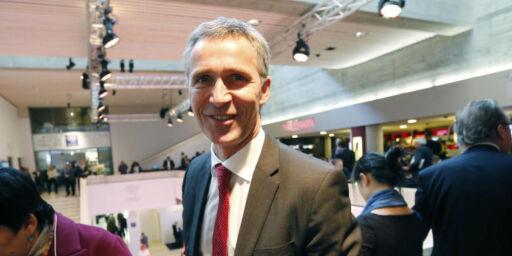 image: Stoltenberg gjør klimaframskritt i Davos
