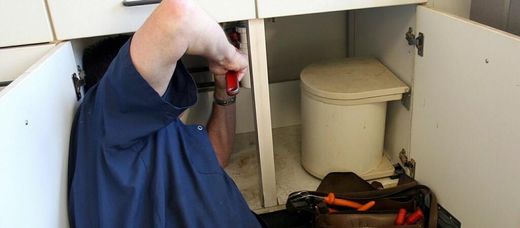 VANNSKADER: Slett rørleggerarbeid utført på egenhånd kan gi lavere erstatning hvis uhellet er ute. Foto: Colourbox.com