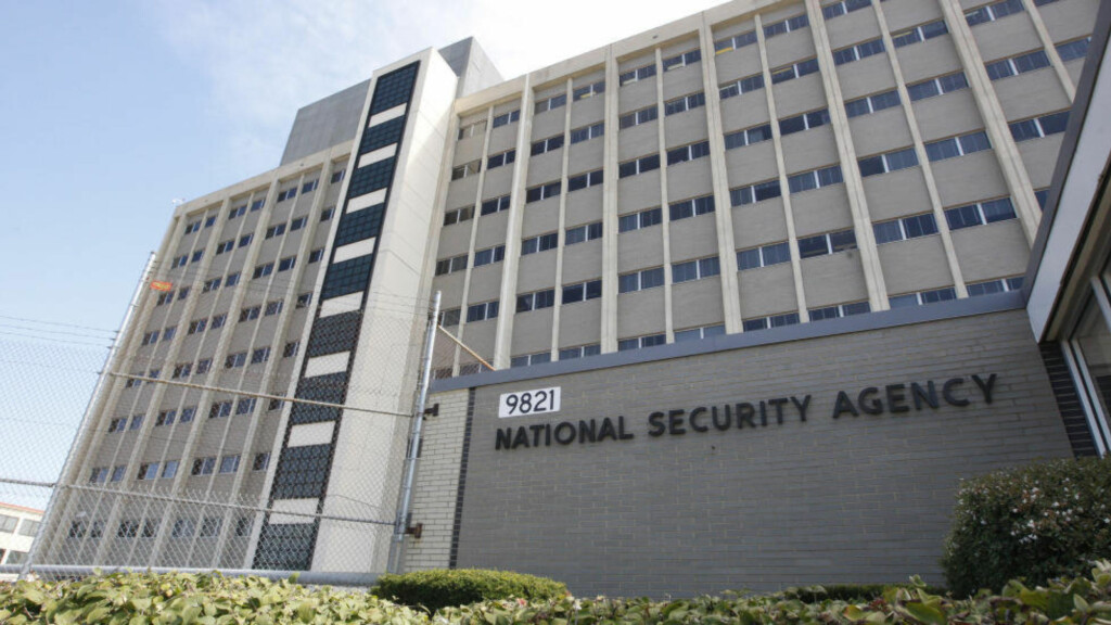 NSA:  National Security Agency i Fort Meade, USA. Snowden var i en periode ansatt her. Arkivfoto: Charles Dharapak/AP/NTB Scanpix