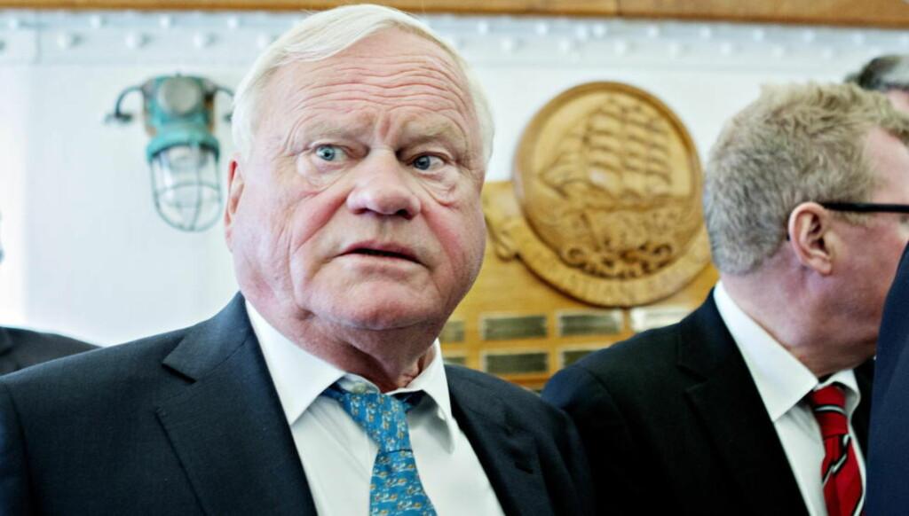 LAKS: John Fredriksen har en enorm gevinst i Marine Harvest. Nå blir selskapet børsnotert i New York.  Foto. Nina Hansen / Dagbladet
