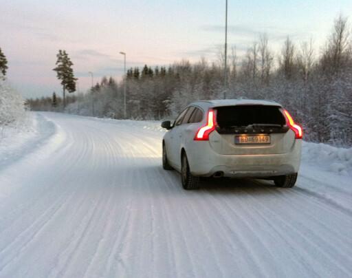 Helt OK vinterbil: Volvo V60 D3 Foto: Knut Moberg