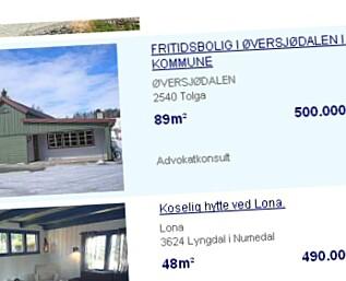 Se Norges billigste fjellhytter - akkurat nå.