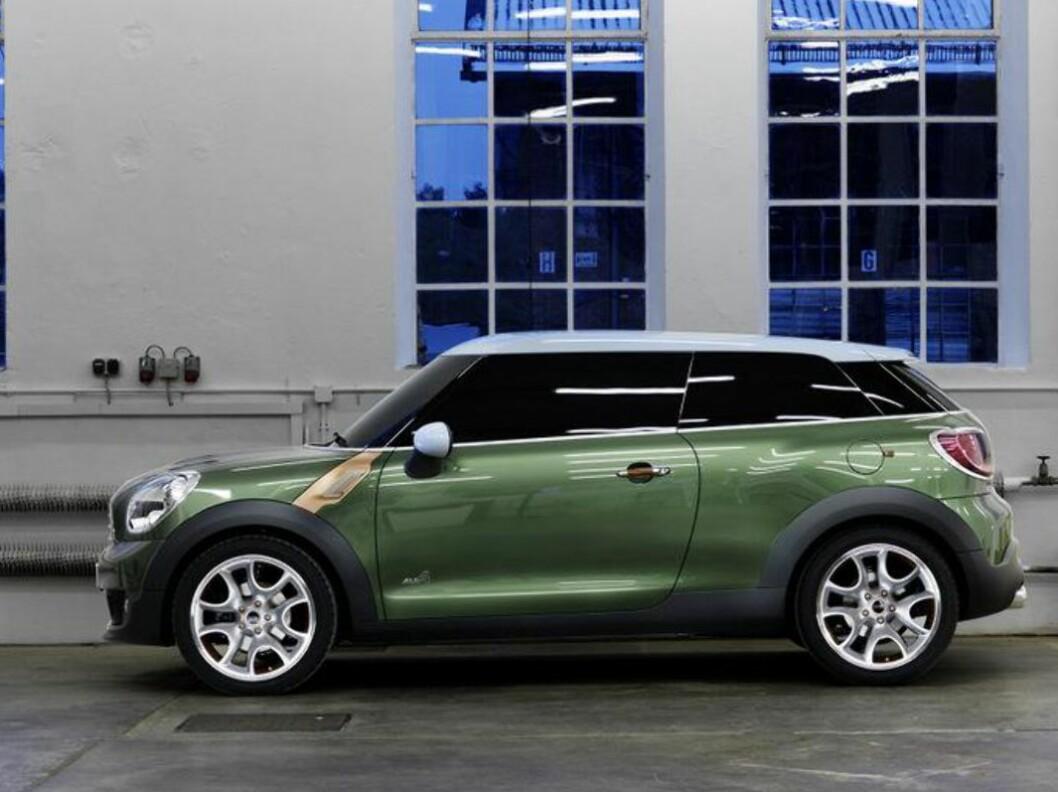 Slik ble Mini Paceman vist som konsept for halvannet år siden. Produksjonsversjonen er nå under testing - og kanskje blir navnet heller Countryman Coupe? Foto: Mini