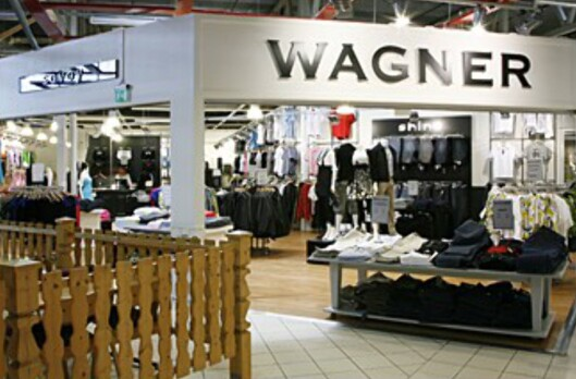 Her blir det ingen aktivitet i dag. Butikkjeden er konkurs, og de ansatte har fått beskjed om å holde seg hjemme. Foto: Buskerud Storsenter