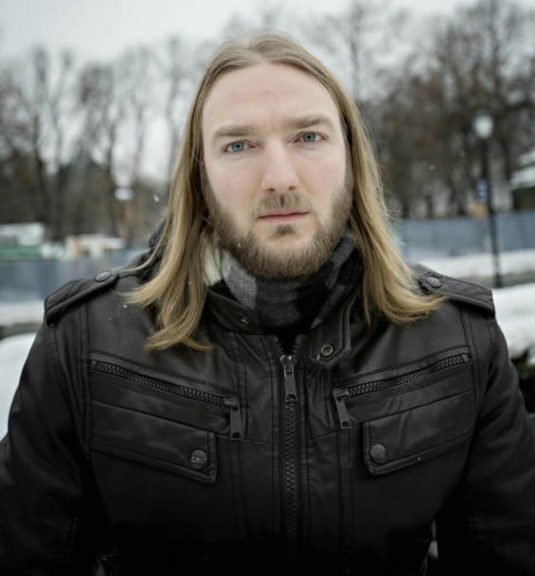 <strong>GRANSKER:</strong> Joakim Møllersen i Radikal Portal jobber for å avsløre Fyret.nu som nazistside. Han blir ikke overrasket dersom det skulle vise seg at den svenske mannen står bak nettsida. Foto: Anita Arntzen / Dagbladet