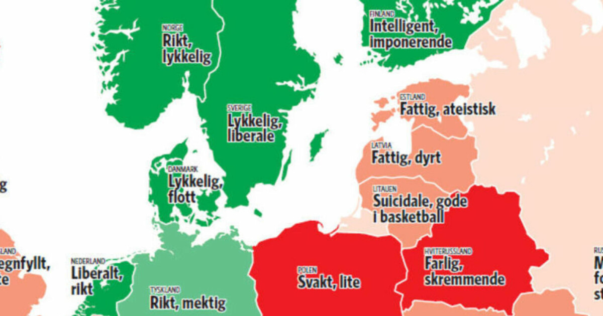 kart over fattige og rike land Her er kartet som viser deg Europa slik du aldri har sett det før  kart over fattige og rike land