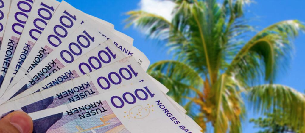 Flere nordmenn innrømmer at de vil bruke mer penger på ferieturen til neste år. Foto: Per Ervland og Colourbox/Kim Jansson