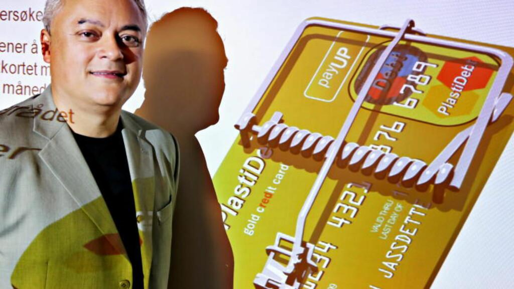 KOMISK: Fagdirektør for finans i Forbrukerrådet, Jorge B. Jensen, mener det kunne blitt problematisk dersom banken lagret informasjon funnet på sosiale medier. Foto: Jacques Hvistendahl