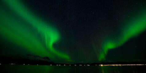 image: Se det flotte nordlyset