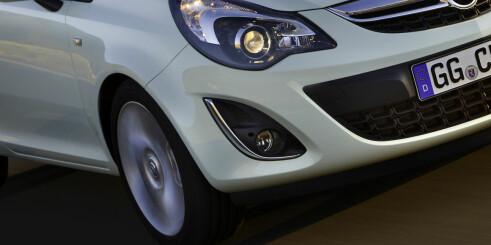 Opel Corsa oppdateres