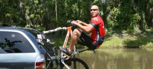 Sykkelstativ blir ikke mer fleksi enn dette