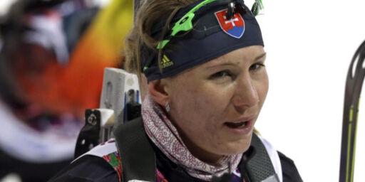 image: De norske jentene skuffet da Kuzmina forsvarte sprintgullet